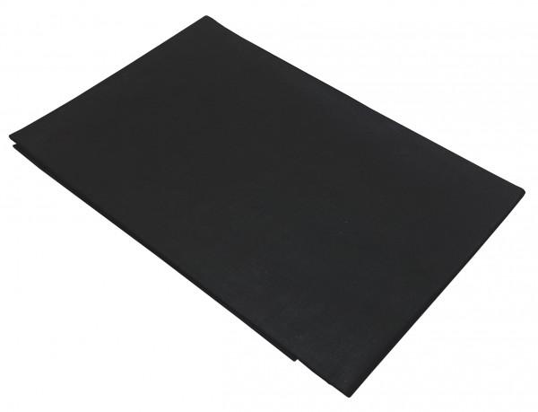 Ζεύγος μαξιλαροθήκες ΚΟΜΒΟΣ Μαύρες μονόχρωμες 50x70