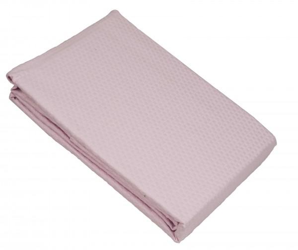 Κουβέρτα Πικέ Le Blanc Sanforized Cotton 100% Pink Μονή 170x245