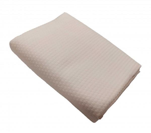 Κουβέρτα Πικέ Le Blanc Sanforized Cotton 100% Beige Μονή 170x230