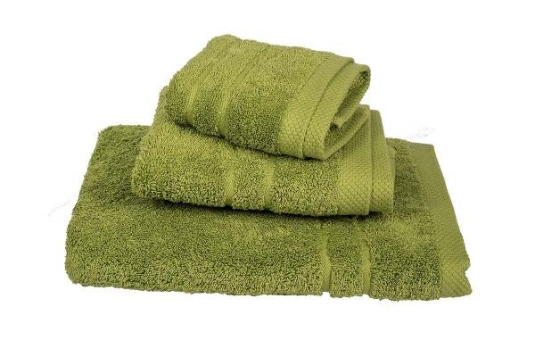 Πετσέτα Le Blanc Πεννιέ 600γρ/μ2 Olive Προσώπου 50x95