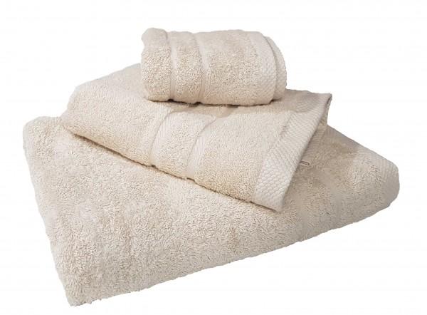 Πετσέτα Le Blanc Πεννιέ 600γρ/μ2 Beige Προσώπου 50x95