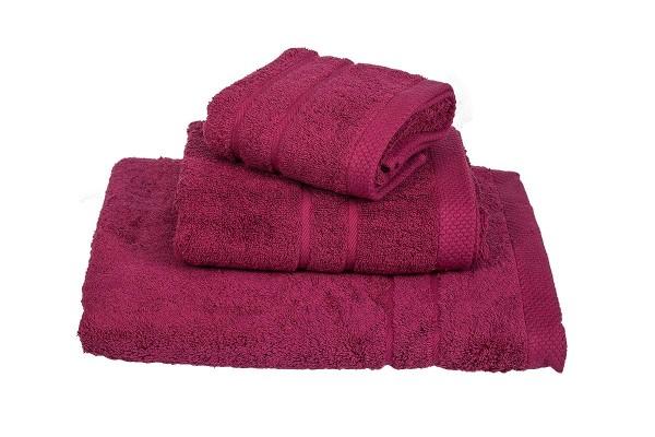 Πετσέτα Le Blanc Πεννιέ 600γρ/μ2 Crimson Προσώπου 50x95