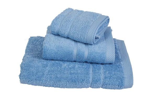 Πετσέτα Le Blanc Πεννιέ 600γρ/μ2 Light Blue Προσώπου 50x95