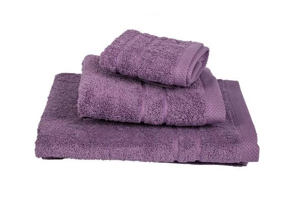 Πετσέτα Le Blanc Πεννιέ 600γρ/μ2 Lilac Προσώπου 50x95