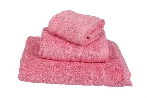 Πετσέτα Le Blanc Πεννιέ 600γρ/μ2 Pink Προσώπου 50x95