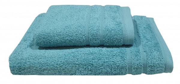 Πετσέτα ΚΟΜΒΟΣ Πεννιέ 500γρ/μ2 Πετρόλ Προσώπου 50x90
