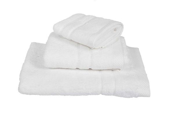 Πετσέτα Le Blanc Πεννιέ 600γρ/μ2 White Μπάνιου 80x145