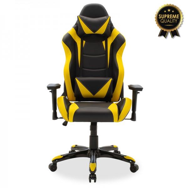 Καρέκλα γραφείου Russel-Gaming SUPREME QUALITY pu μαύρο-κίτρινο