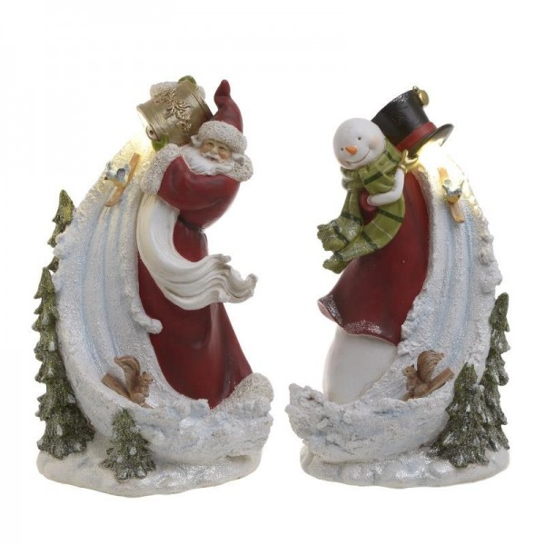 Χριστουγεννιάτικο Διακοσμητικό Σετ Των 2