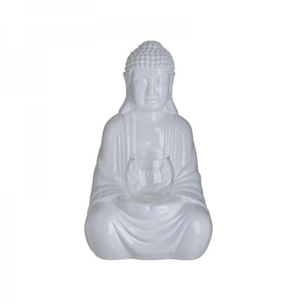 Inart Κηροπήγιο Βούδας