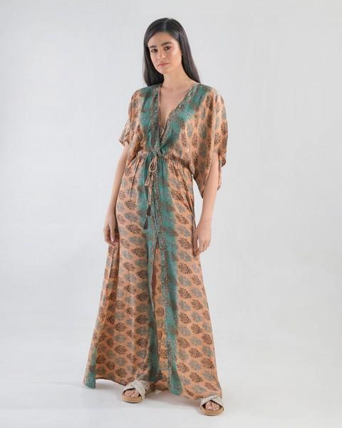 Inart Φόρεμα Μακρύ